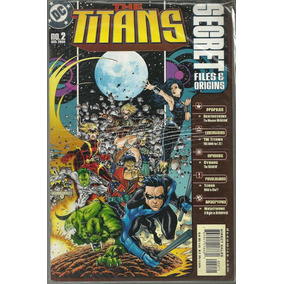 The Titans Secret Files & Origins 2 - Dc Bonellihq Cx33 D19