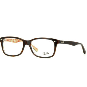 50eea4f0c7217 Bege 5057 Ray Ban Rb5228 50 Tartaruga - Óculos no Mercado Livre Brasil