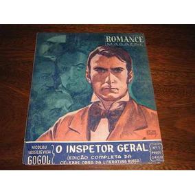 Romance Magazine Nº 1 Inspetor Geral 1ª Revista Da Ebal 1946