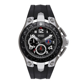 Relógio Orient Mbtpc002 Titânio Flytech Robusto Luxuoso