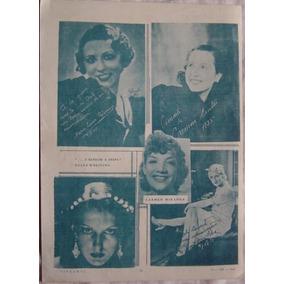 Cartaz Revista Cinearte Carmen Miranda - 15 -viii- 1935.