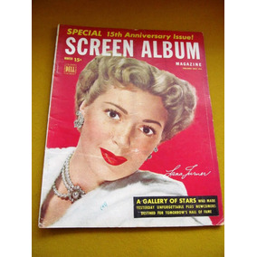 Photoplay Screen Album 1949 Harlow Lana Turner Garbo Gable
