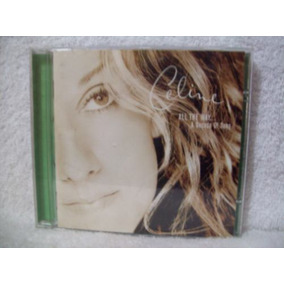 Cd Original Celine Dion- All The Way... A Decade Of Song