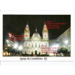 Cartão Postal Igreja Da Candelária - Rj Brasil