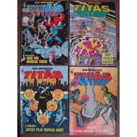 Os Novos Titãs Nºs 10 Ao 122 Ed. Abril Preço Para 10 Gibis
