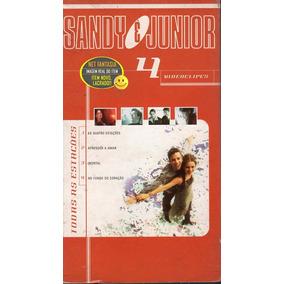 Vhs Sandy & Junior Todas As Estações 4 Videoclips -raríssimo