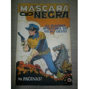 Gibi Máscara Negra Nº 1 - 1979 - Rge