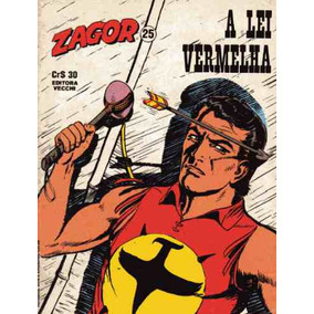 Tex Apresenta Zagor Nº25 A Lei Vermelha Ed Vecchi 1980