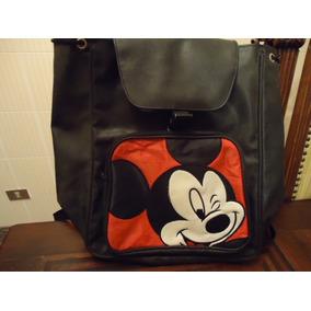Mochila Escolar Do Mickey