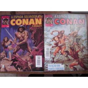 3 Gibis A Espada Selvagem De Conan O Bárbaro Nºs 12 A 204