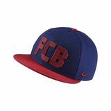Boné Barcelona Nike Snapback Fcb Squad Azul- Aba Reta 8bb28affa5e