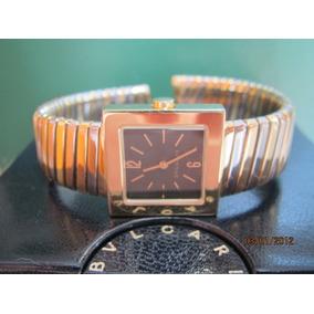 9c687117080 Relógio Feminino Serpente Cobra Branco Prata Preto Strass. 1 vendido -  Minas Gerais · Bulgari Tubogas - Ouro Amarelo