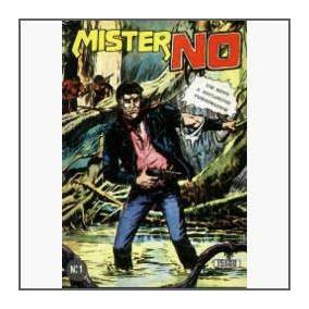 Mister No Nº 1. Edição Portuguesa Rara! 1978