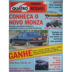 4 Rodas No. 355 Fevereiro De 1990