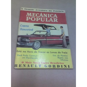 Revista Mecânica Popular - Nº31 - Julho De 1962