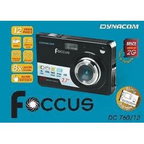 Câmera Digital Foccus Dynacom 12mp + 2g + Porta Câmera