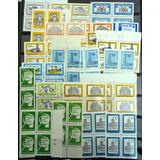 Argentina, Lote 30 Cuadros Mint Proceres,museos Etc