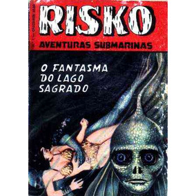 Risko Nº 1 - O Fantasma Do Lago Sagrado - Ediex - 1962