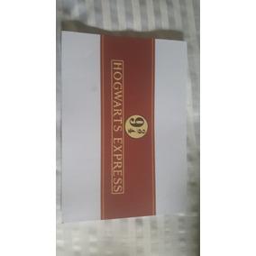 Ticket Hogwarts E Chaveiro Harry Potter Omelete Box