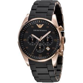 Relógio Emporio Armani Ar5905 Preto Rose Original - Relógios De ... 11d9aa3054