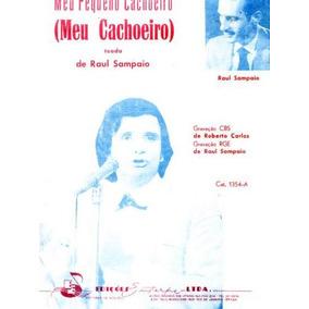 Meu Cachoeiro. Roberto Carlos. Partitura Original. 1962.
