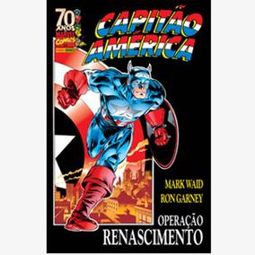 Capitão América Operação Renascimento - Encadernado - Novo