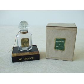 Antigo Frasco De Perfume Francês Vacarme De Rauch