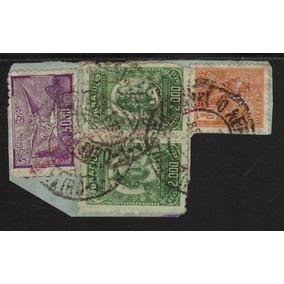 Brasil Perfins Sobre Fragmento I H C Coleção Roosevelt Rara