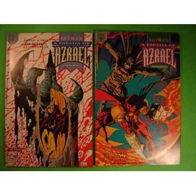 Batman- A Espada De Azrael - Minissérie Especial - 2 Edições