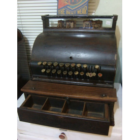 Antiga Máquina Registradora Marca National