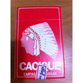 Baralho / Jogo De Cartas Cacique Cartas Vermelhas