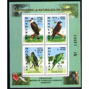 Honduras 2004 - Proteção Da Natureza - Aves - Upaep - Bloco