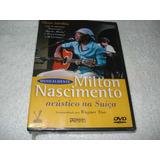 Dvd Milton Nascimento Acústico Na Suiça Original