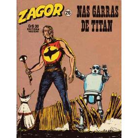 Tex Apresenta Zagor Nº 26 Nas Garras De Titan Ed Vecchi 1980