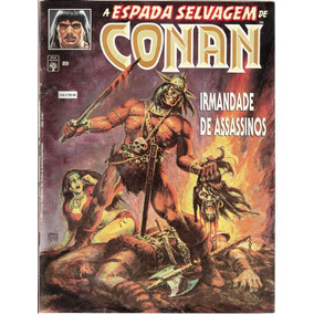 108 Revista Hqs 1992- Rvt- A Espada Selvagem De Conan- 89