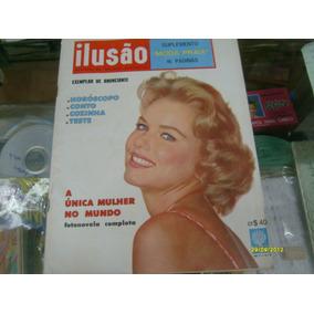 Fotonovela Abril Ilusao 45 Jan 1962 / Unica Mulher Do Mundo.
