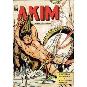 Akim Nº57 O Retorno De Mygale - Editora Noblet