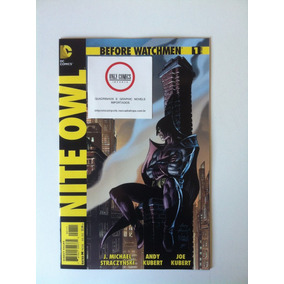 Before Watchmen Nite Owl Arco Completo #1 Ao 4 (2012)