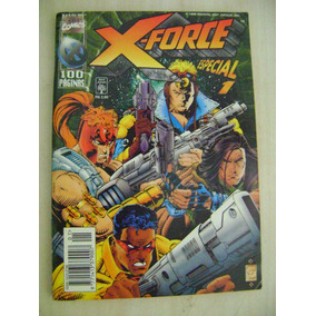 X-force Especial Nº 1 Abril 96 Ed.abril Ótimo! Leia