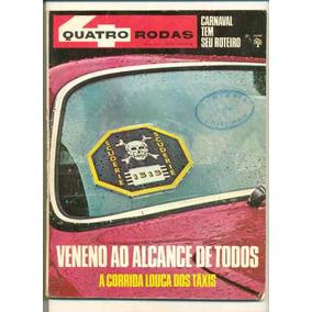 *sll* Antiga Revista Quatro Rodas N. 91 - Abril - Ano.1968