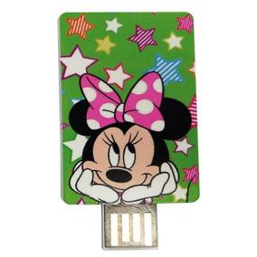 Pendrive U-tc-3000 Minnie Mickey Usb 2.0 Disney 4gb Novo