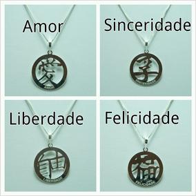 324a2913624 Pingente Simbolo Japonês - Joias e Bijuterias no Mercado Livre Brasil