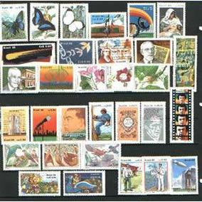Ano Completo-1986 - 31 Selos Novos