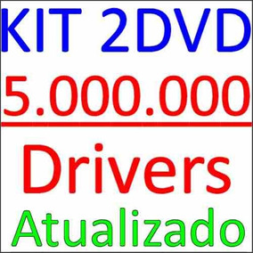 Kit Combo Drivers Vs 2015 São 2 Dvds Win 7 8 Xp + Win7