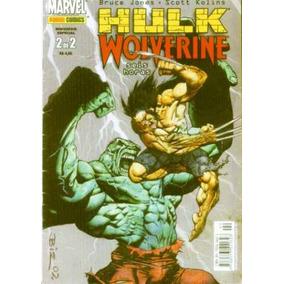 Saga Completa Hulk E Wolverine Bruce Jones 6 Horas