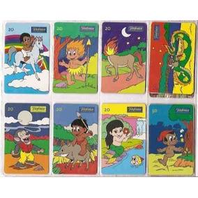 Loucura Série Completa Mitos E Lendas (8 Cartões) Telefonica
