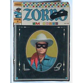 Zorro - Especial Em Cores Nº 12 - Ano:1972(usada-conservada)
