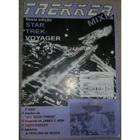 Revista Trekker Mix Nº 1 - 1995 - Star Trek Voyager