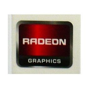 Adesivo Original Radeon Graphics - Pequeno (layout Antigo)