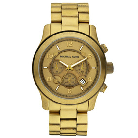 Relogio Mk 8227 + Bolsa Michael Kors (dourado) - Relógios De Pulso ... 971e52be7e